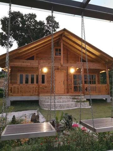 Log House Gateway , WIFI , Free Car Park