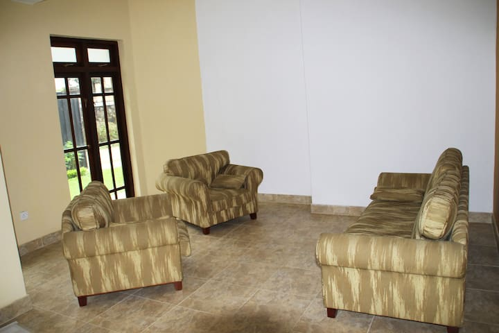 Deluxe Apartment Lounge and TV room
