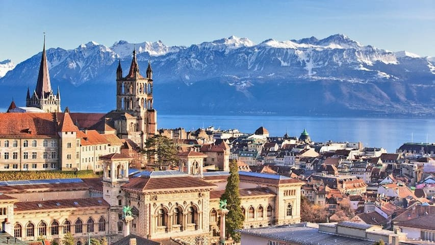 Around & About in Lausanne, the Olympic Capital by A&R