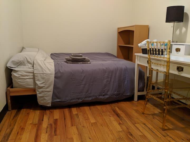 Quiet, Clean Bedroom in Prime Harlem Location.