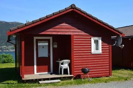 Small cabins with view to the fjord - Stord