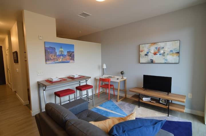 Luxury 1 bedroom, 1 bath apartment