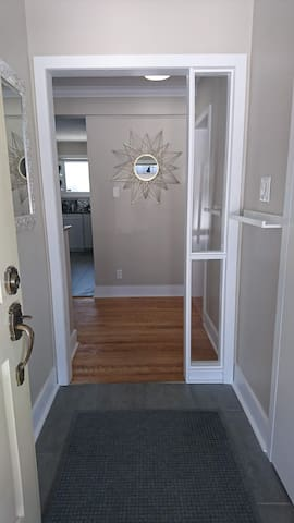 Bright, welcoming entrance