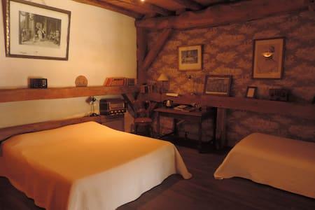 Chambre de la Cour du Château - Saint-Seine-sur-Vingeanne - Guesthouse