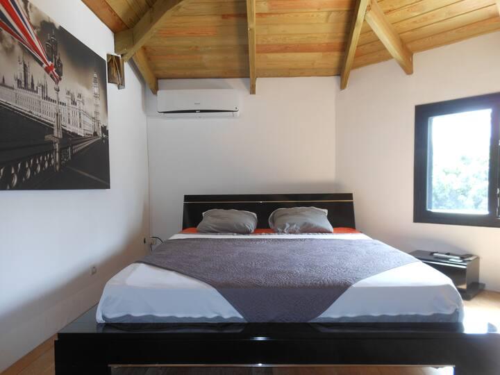 Chambre confortable au calme ligne des bambous
