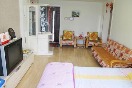 万平口附近可做饭、可观海的精装海景房,让您尽享临海风情 - Rizhao - 公寓