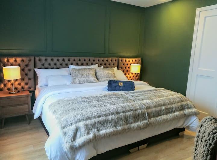 Increíble habitación con cama King Size.