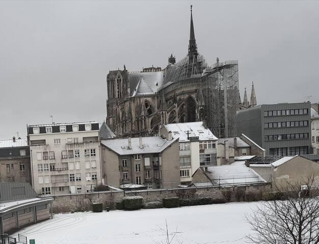 Appartement avec vue sur la Cathédrale