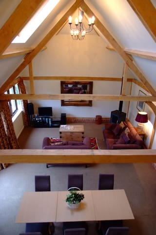 Oak framed cottage - Stoke - Pension