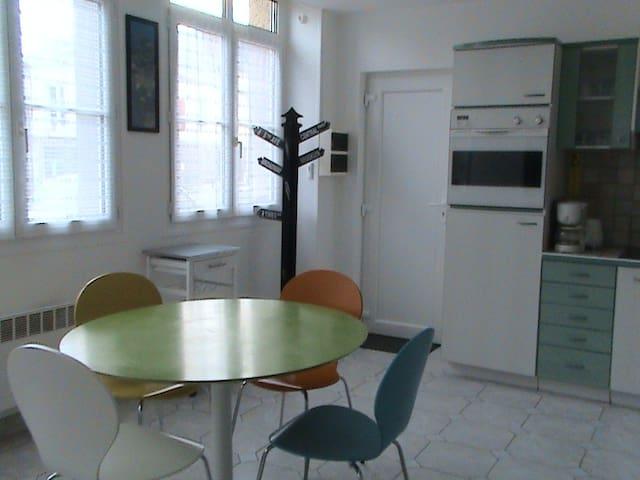 Appart dans résidence YVINEC - Granville - Apartemen