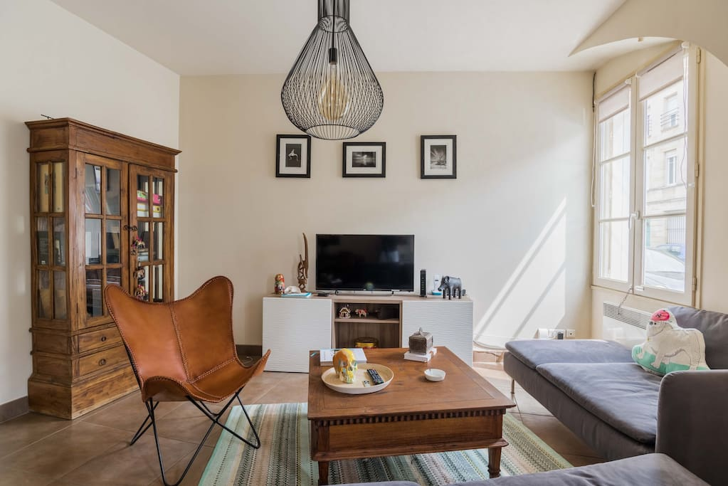 Bel appartement avec terrasse centre bordeaux for Appartement bordeaux centre terrasse