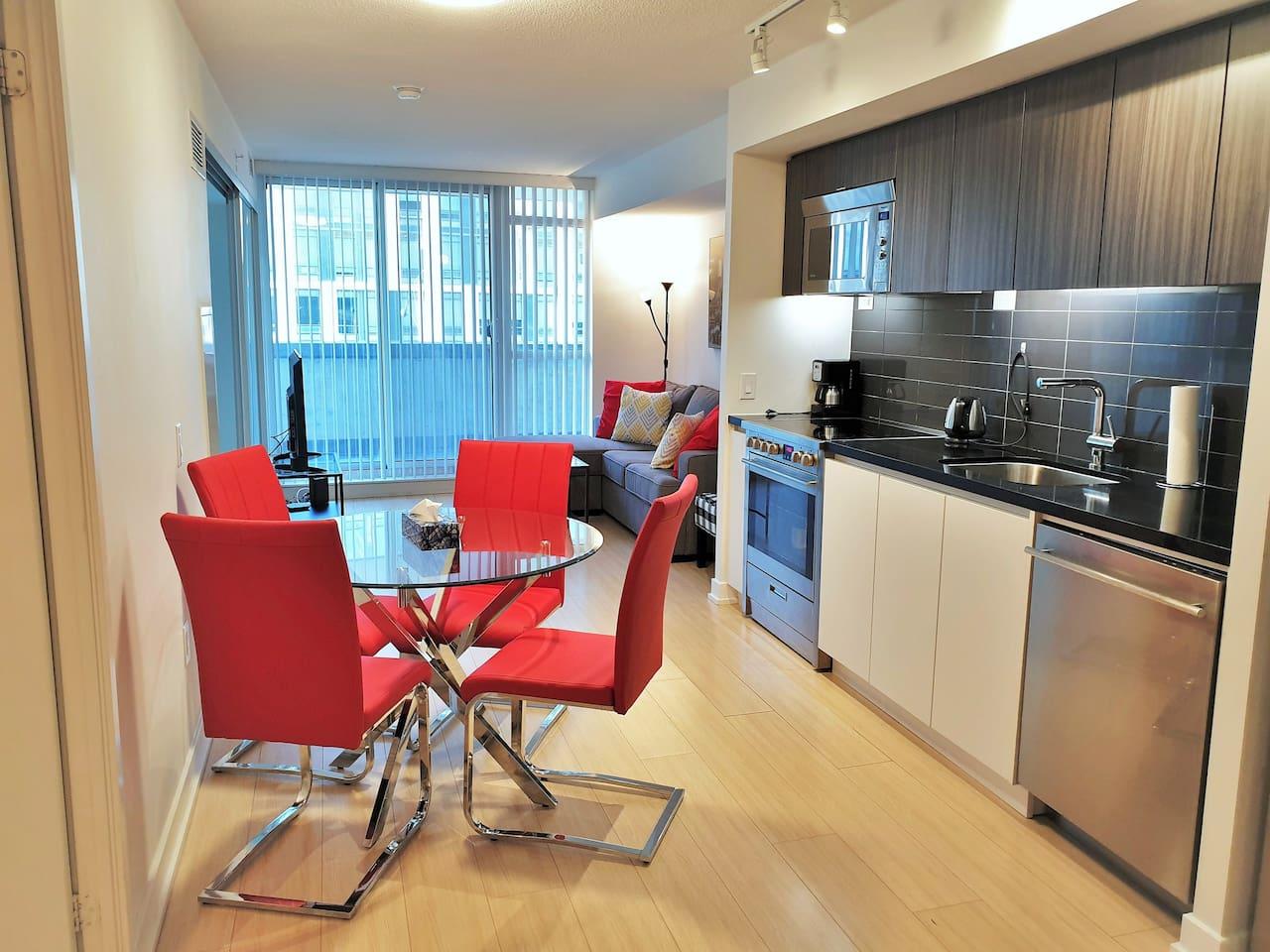 Dining Room / Kitchen / Living Room