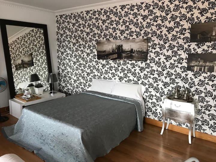 Bonita suite con vistas