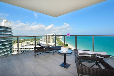 St Regis 2 BR in a 5* Condo Hotel On the Beach - Bal Harbour