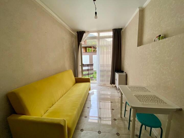 Уютная квартира отдельным выходом во дворик