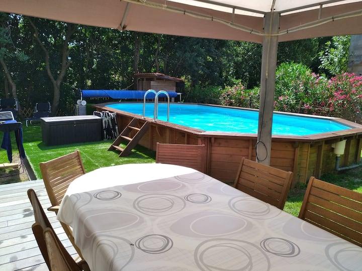 Villa avec piscine grand standing