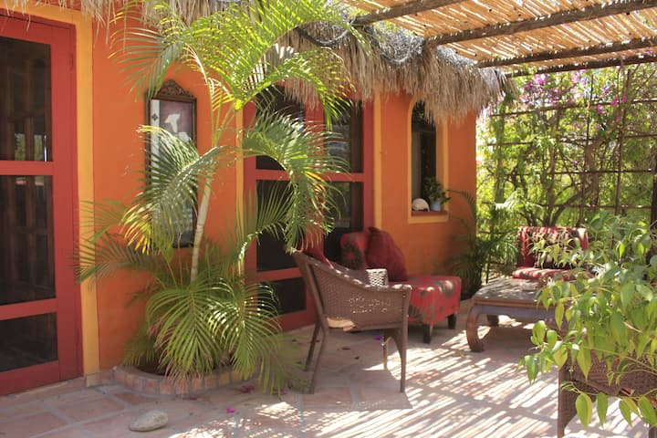 Cabo Pulmo Steps to the Beach & private garden !
