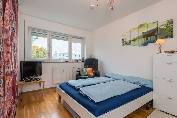 Quiet-Bright-Room in Munich North (20 min to Cent) - Munic - Pis