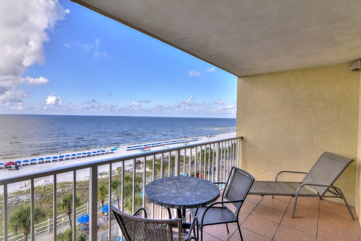 1-Bedroom Beach-front Condo by Resort Collection