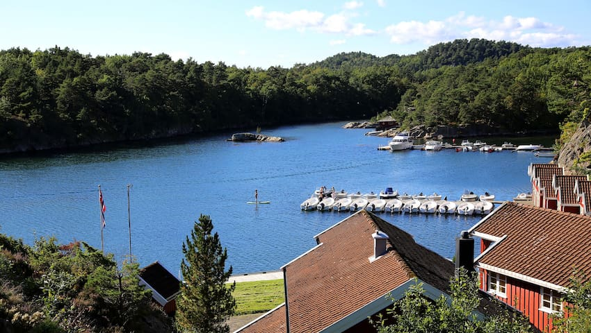 Holiday apartment by the sea nearby Kristiansand - Søgne - Chatka