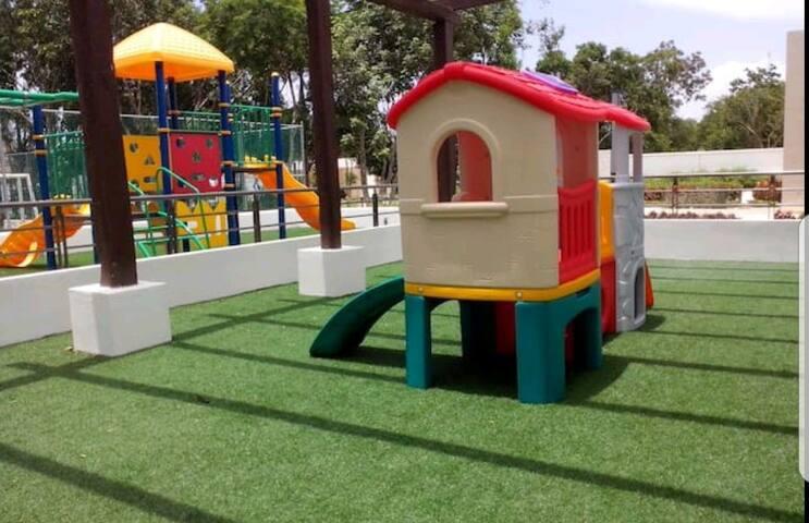 Zona infantil dentro del sports club