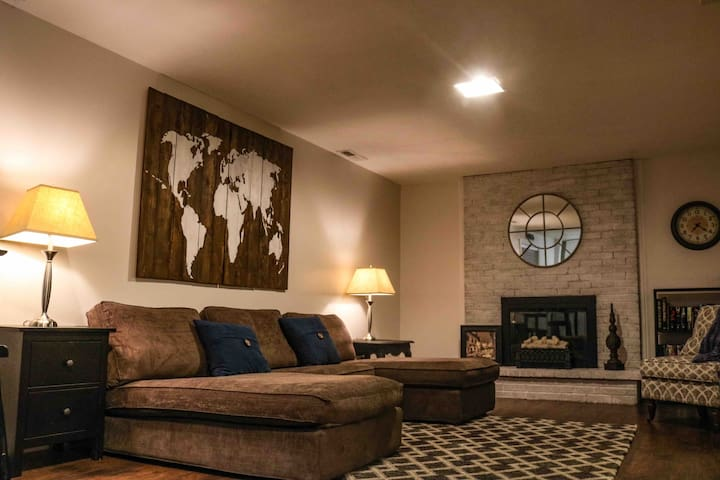 Private Cottonwood Heights Basement Apartment