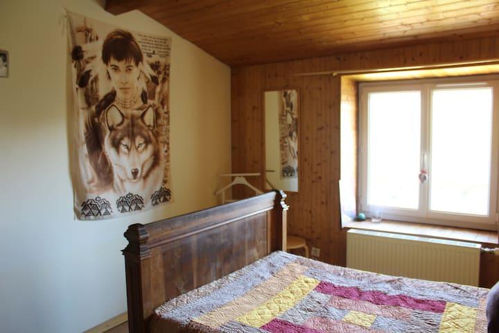 Chambre Naho à l'étage de la maison