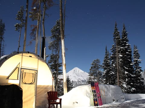 """Big Sky """"Hive in the Sky"""" Quonset Hut"""