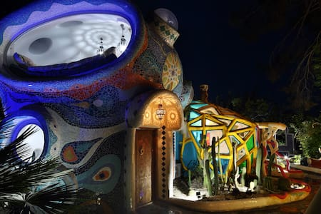 Euphoria Art Land - The Blue House