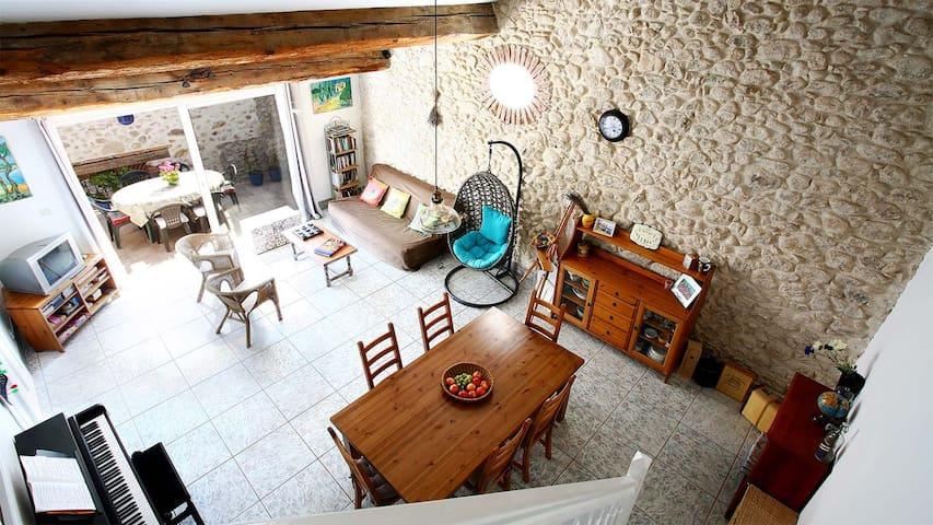 Argeles Stone Village Home by Beach - Argelès-sur-Mer - Huoneisto