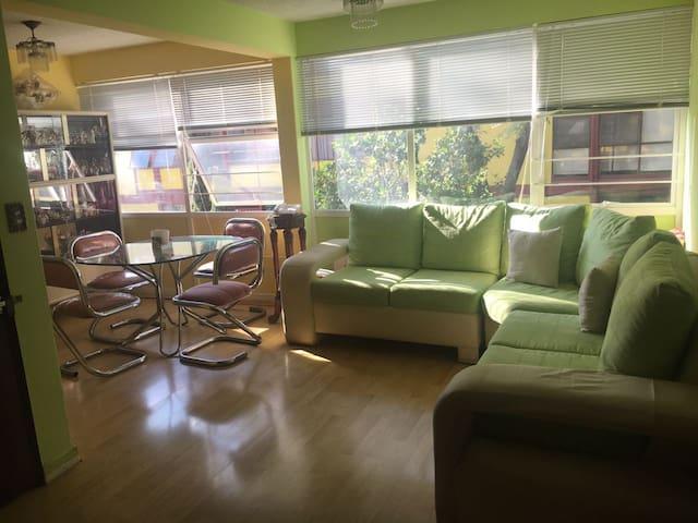 Acojedor dpto cerca del centro y aeropuerto ! - Ciudad de México - Apartment