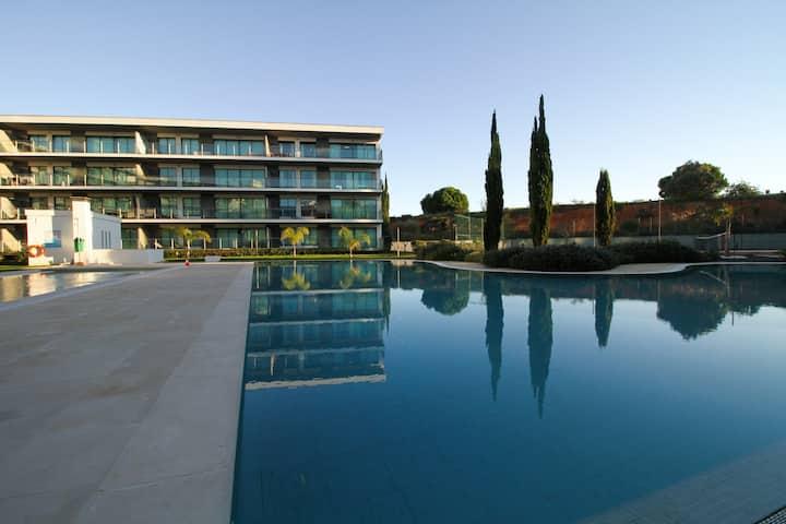 Vilamoura Residence Golf - 2 modern bdr apt + pool