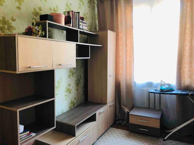 Rent a room metro Polezhaevskaya 5 min walk
