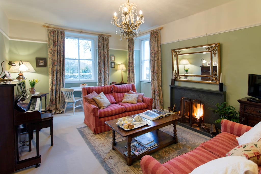 Relax in our comfortable sitting room