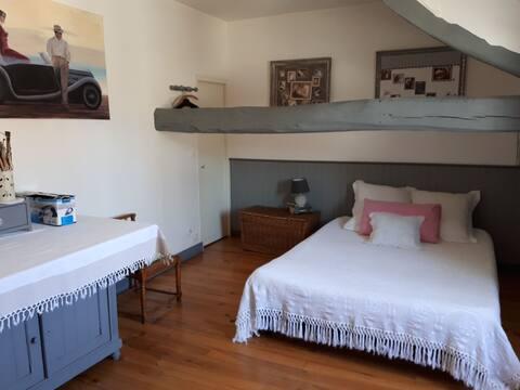 Chambre spacieuse dans maison proche Fontainebleau