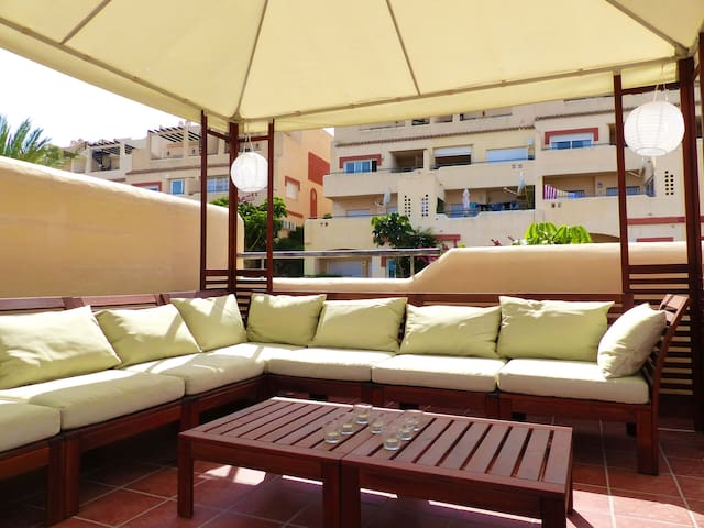 Rooftop dreams in La Cala de Mijas