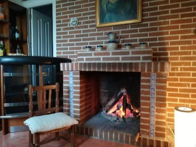 Casa con Chimenea cerca de Toledo