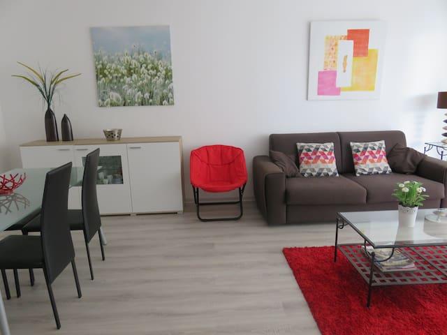 T2   BIARRITZ  CENTRE   ( PLAGE 7 MIN A PIED ) - Biarritz - Wohnung
