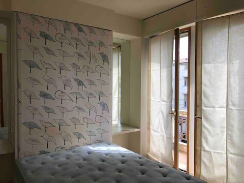 Beachfront apartment in Miramare di Rimini