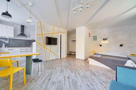 Квартира- студия на Пушкинской. 1 минута от метро.