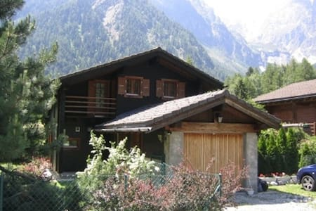 Comfortable chalet in an idyllic area. - Orsières - 木屋