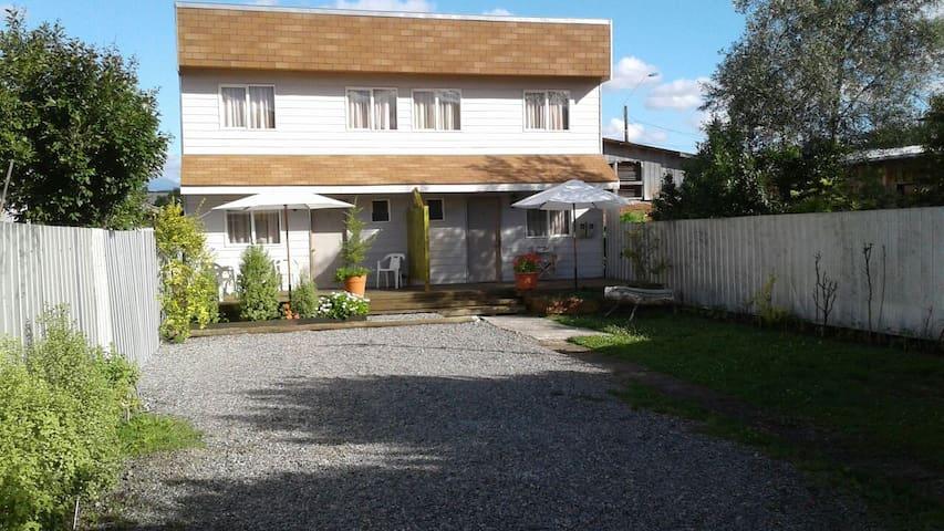 Depto para 5 huéspedes con estacionamiento privado - Villarrica - Apartemen