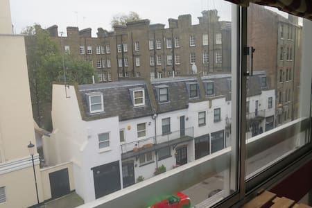Nice Studio flat in Notting Hill - London - Lejlighed