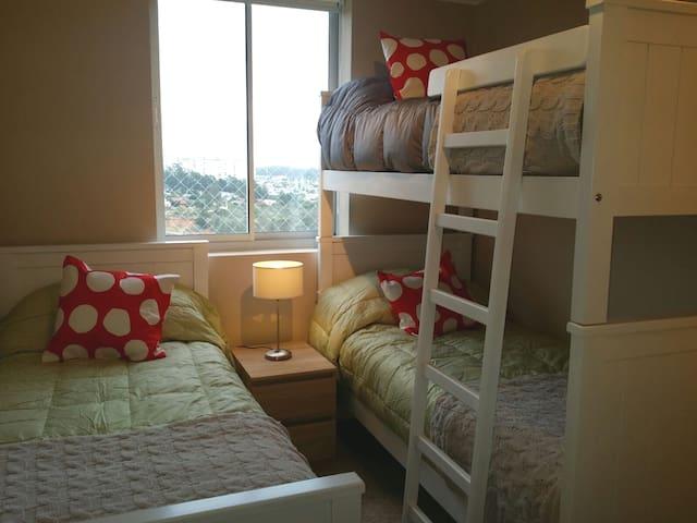 3 dormitorios con capacidad para 8 personas