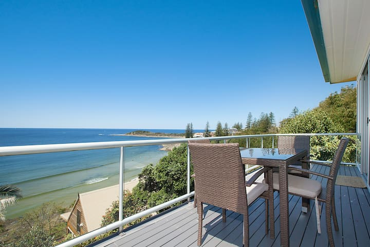 Oceanfront w/ private beach access - Yamba - Pis