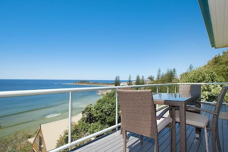 Oceanfront w/ private beach access - Yamba - Byt