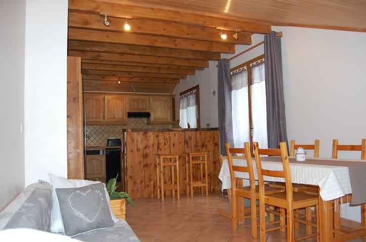 Appartement 3* à la montagne - Saint-Léger-les-Mélèzes - Wohnung
