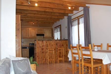 Appartement 3* à la montagne - Saint-Léger-les-Mélèzes