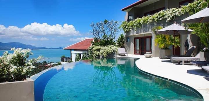 5 bedroom luxury seaview in Koh samui