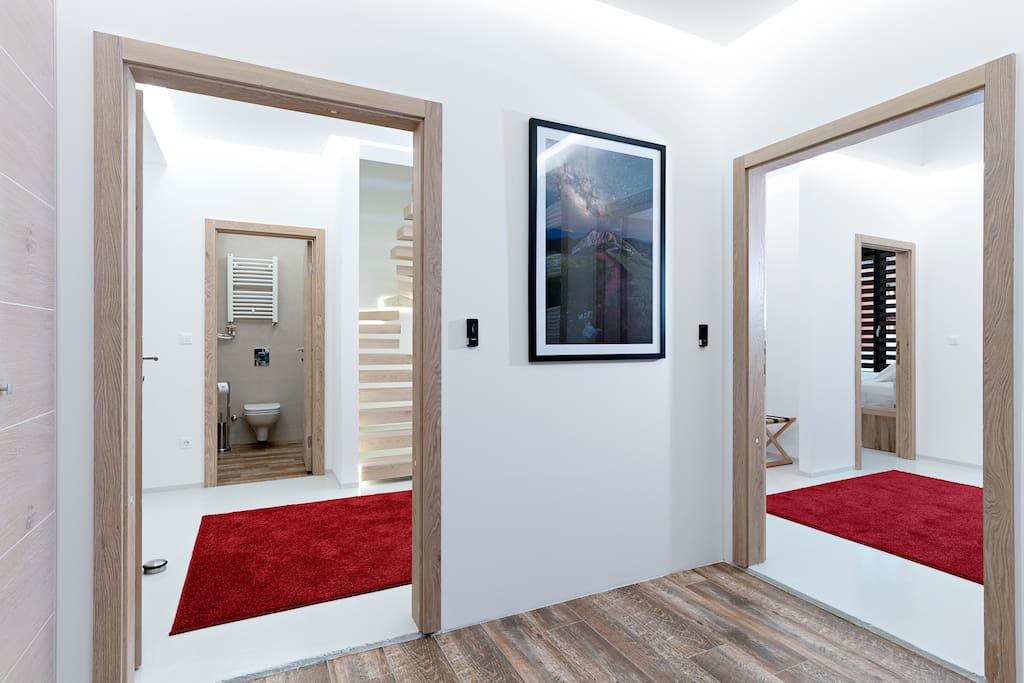 Entrance into apartment